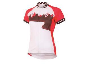 Pearl Izumi 2013 Women's LTD MTB Short Sleeve Cycling Jersey - 11221212 (Paradise Pink Trail - L)