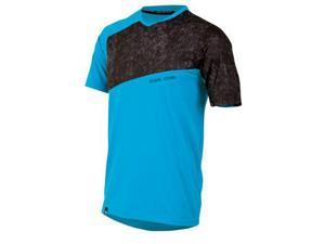 Pearl Izumi 2014 Men's Launch Short Sleeve Cycling Jersey - 11121307 (Electric Blue/Grey Scrib Camo - M)