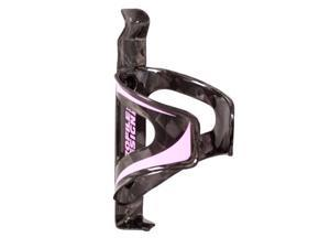 Profile Design Karbon Kage Bicycle Water Bottle Cage (Black/Pink)