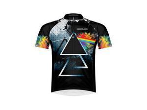 Primal Wear Men's Pink Floyd Triad Cycling Jersey - PFTRJ20M (Pink Floyd Triad - S)