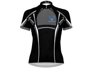 Primal Wear Women's US Air Force Invade Cycling Jersey  - UAFIJ60W (U.S. Air Force Invade - XS)