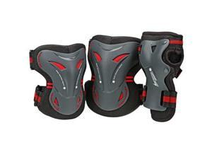 Bone Shieldz 2013 Tarmac Tri Pack Protective Pads - Black - 5165 (Medium)