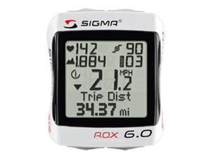 Sigma Rox 6.0 STS Speed/HRw/altitude Wireless Bicycle Computer - 06170