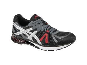Asics 2016 Men's GEL-Defiant 2 Training Shoe - S527N.9003 (Onyx/Silver/Red - 9)