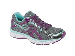Ascis 2016 Women's Gel-Excite 3 (D) Extra Wide Running Shoe - T5C5N.9836 (Charcoal/Grape/Aqua Splash - 9.5)