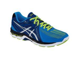 Asics 2016 Men's Gel-Netburner Ballistic Volleyball Shoes - B507Y.5093 (Navy/Silver/Electric Blue - 14)