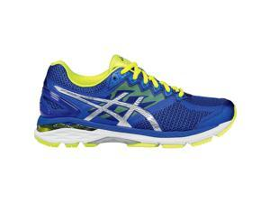 Asics 2016 Men's GT-2000 4 Running Shoes - T606N.4393 (ASICS Blue/Silver/Flash Yellow - 8.5)