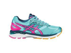 Asics 2016 Women's GT-2000 4 Running Shoes - T656N.4034 (Turquoise/Hot Pink/Navy - 6)