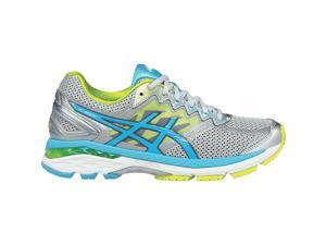 Asics 2016 Women's GT-2000 4 Running Shoes - T656N.9342 (Silver/Turquoise/Lime Punch - 6.5)