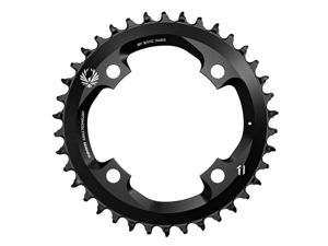 SRAM 12 Speed X-Sync 2 30T Bicycle Chainring - BCD: Direct Mount, 3mm offset, Aluminum, Black - 11.6218.030.240