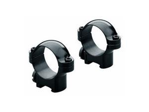 Leupold RM Rimfire No Tap Ring Mount, 3/8in, 0.87in Height, 1in Tube, Glossy Bla