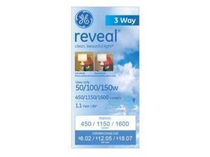 GE Reveal 50/100/150 Watts A21 1-Pack