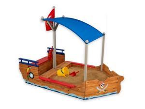 KidKraft Pirate Sandbox Sandboat