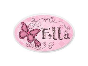 KidKraft Personalized Oval Wall Plaque - Butterfly