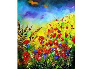 Pol Ledent Paintings: Summer Canvas Art