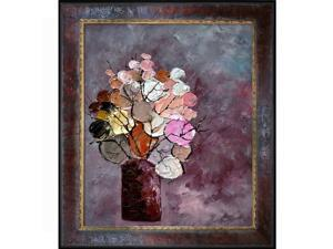 Still Life (452120) with Sambrosa Distressed Cherry Frame - Canvas Print