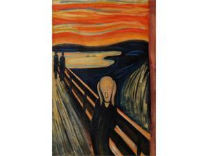 The Scream - Hand Painted Canvas Art