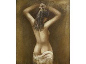 Nude Figures: Evening in the Islands - Hand Painted Canvas Art