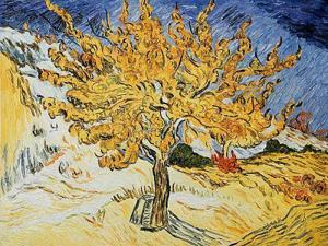 Van Gogh Paintings: The Mulberry Tree - Hand Painted Canvas Art