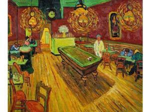 Van Gogh Paintings: The Night Cafe - Hand Painted Canvas Art