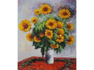 Sunflowers - Hand Painted Canvas Art
