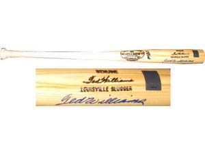 Ted Williams Autographed Baseball Bat - Louisville Slugger - Item #1981127