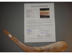 Wayne Gretzky Signed Hockey Stick Coa Letter Blade - JSA -Item #2955640
