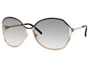 Gucci 2846/N/S Sunglasses-In Color-Gold Black/gray gradient
