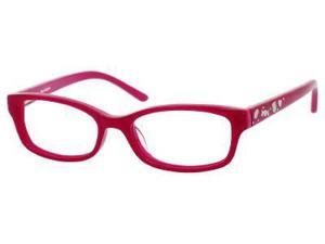 Juicy Couture Juicy 902 Eyeglasses-In Color-Raspberry / Pink-Size-46/15/125