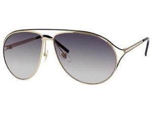 Gucci 4216/S Sunglasses (In Color-Gold / Shiny Black/gray gradient)