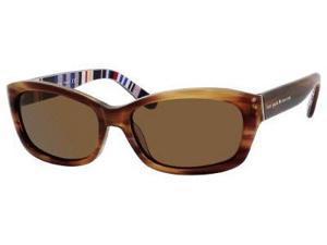 Kate Spade Ginnie/P/S Sunglasses-In Color-Black / Giraffe/gray polarized