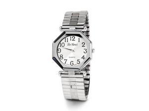 Ladies Adjustable Silver Tone Quartz Fashion Wristwatch