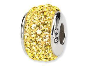 925 Silver November Birthstone Swavorski Crystal Bead