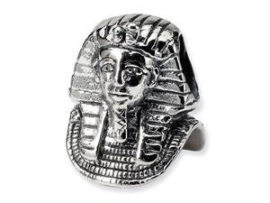 925 Sterling Silver Charm Egyptian Pharaoh Jewelry Bead