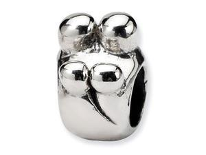 925 Sterling Silver Charm Family of Four Jewelry Bead