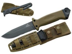 Gerber LMF II  ASEK Knife, Coyote Brown