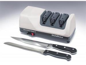 Chef's Choice Diamond Ultra Hone Electric Knife Sharpener, White