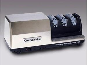 Chefs Choice Model 2100: Heavy-Duty Commercial Knife Sharpener: 3-Stage, St