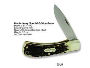 Schrade Uncle Henry Special Edition Bruin Pocket Knife