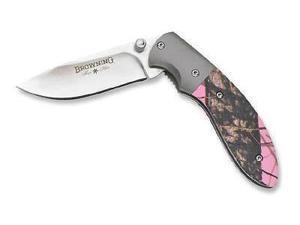 Browning BR894 Knives Folder Knife Stainless Bone Handle For Her Knives Folder