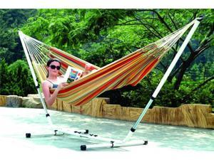 "Stansport 31195 Brazillian Hammock/Stand Combo-Double 79"" x 59"""