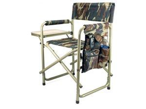 Picnic Time Camoflage Portable Folding Sports/Camping Chair