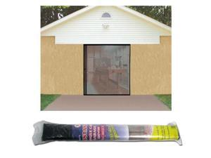 Single Garage Screen Door