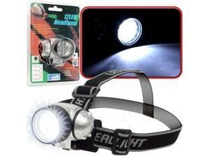 Super Bright 12 LED Headlamp w./ Adjustable Strap