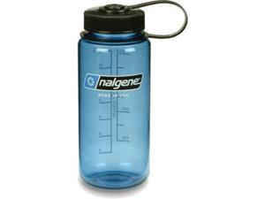 Nalgene Tritan Wide-Mouth Bottle, 1 Pt Slate Blue