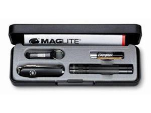 MagLite Solitaire Black w/ Empty Knife Cavity