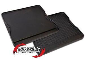 """Camp Chef Reversible Pre-seasoned Cast Iron Griddle 16"""""""