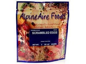 Alpine Aire Scrambled Eggs, Cooked - 2 Ounces