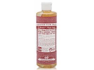 Dr. Bronner's Eucalyptus Liquid Soap, 16 Ounce