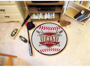 Troy Baseball Rug